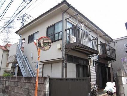 東京都調布市、仙川駅徒歩12分の築30年 2階建の賃貸アパート
