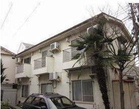 東京都調布市、つつじヶ丘駅徒歩5分の築46年 2階建の賃貸アパート