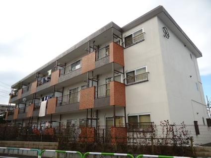 東京都世田谷区、芦花公園駅徒歩10分の築38年 3階建の賃貸マンション