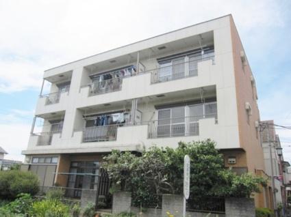 東京都調布市、つつじヶ丘駅徒歩16分の築33年 3階建の賃貸マンション