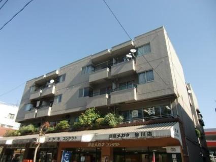 東京都調布市、仙川駅徒歩4分の築39年 4階建の賃貸マンション