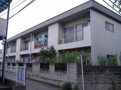 東京都調布市、仙川駅徒歩15分の築37年 2階建の賃貸アパート