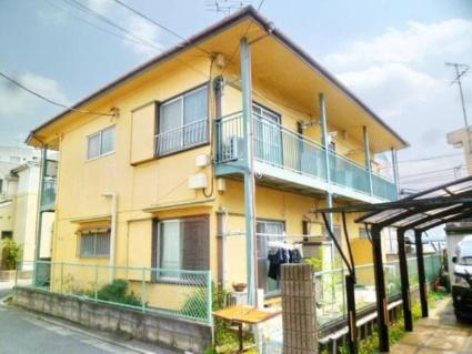 東京都調布市、仙川駅徒歩19分の築39年 2階建の賃貸アパート