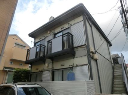 東京都杉並区、上北沢駅徒歩13分の築20年 2階建の賃貸アパート