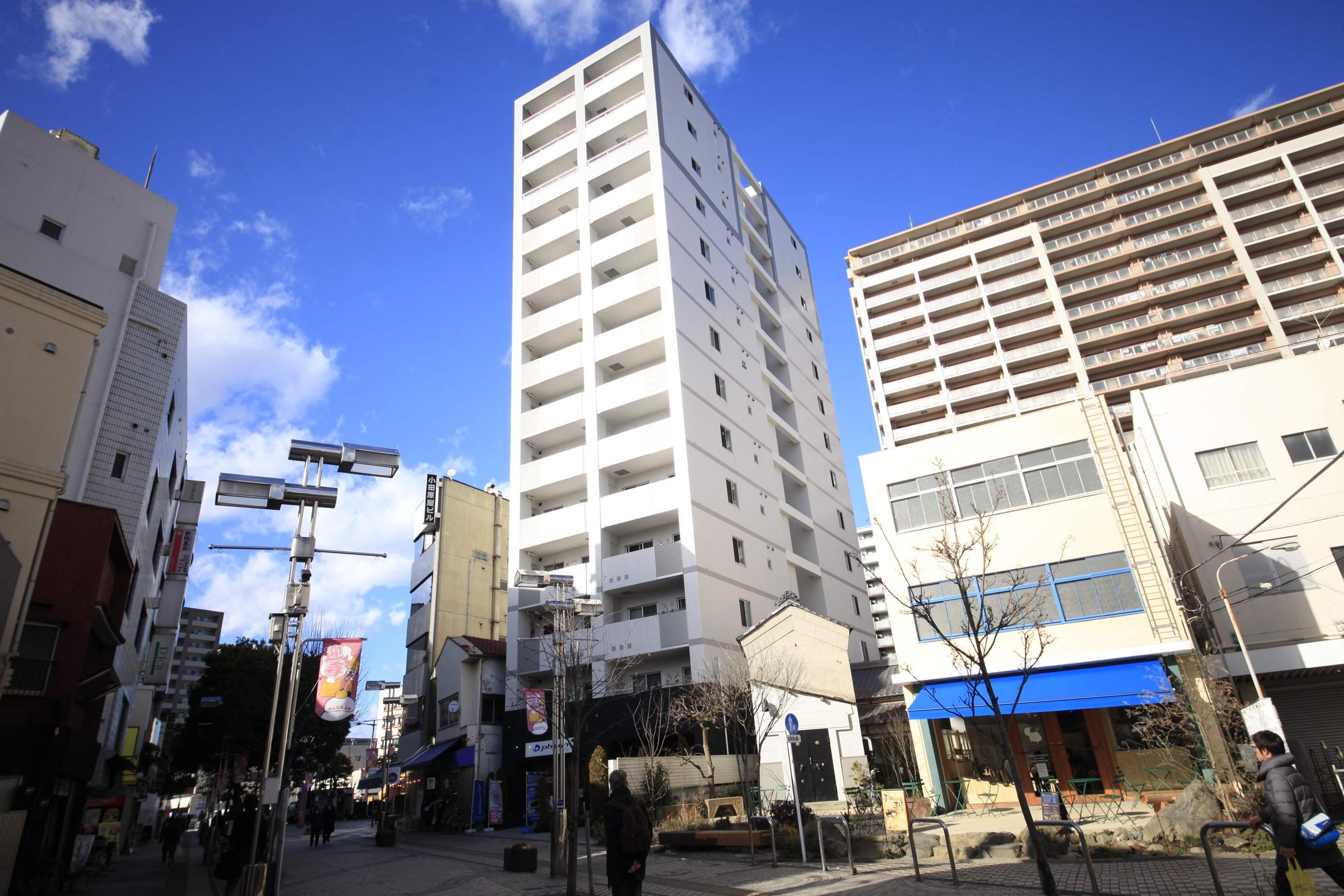 東京都八王子市、八王子駅徒歩9分の築9年 14階建の賃貸マンション