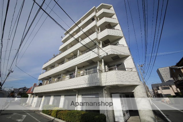 東京都八王子市、八王子駅徒歩13分の築30年 6階建の賃貸マンション