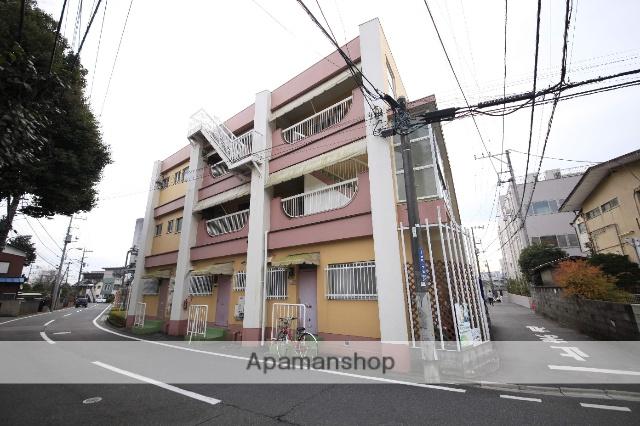 東京都八王子市、八王子駅徒歩23分の築38年 3階建の賃貸マンション
