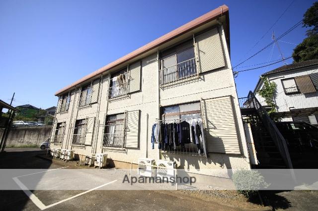 東京都八王子市、八王子駅西東京バスバス15分馬場谷戸下車後徒歩9分の築32年 2階建の賃貸アパート