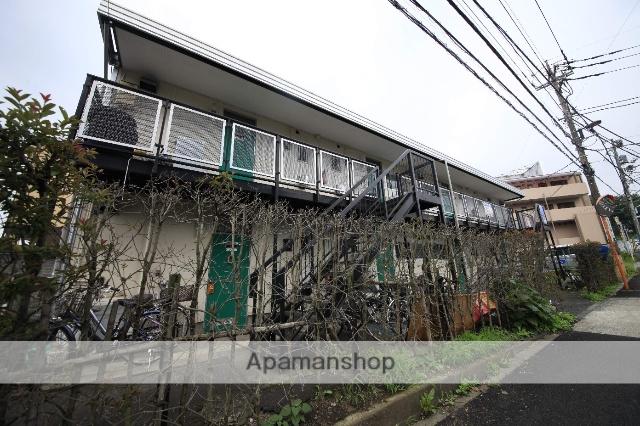 東京都八王子市の築39年 2階建の賃貸アパート
