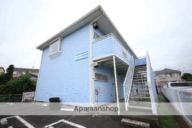 東京都八王子市、八王子駅西東京バスバス18分中野団地下車後徒歩7分の築28年 2階建の賃貸アパート