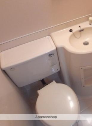セフィール程久保[1R/17.01m2]のトイレ