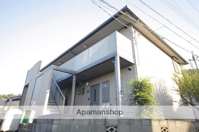東京都日野市、高幡不動駅徒歩8分の築17年 2階建の賃貸アパート