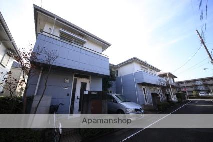 東京都日野市、聖蹟桜ヶ丘駅徒歩24分の築25年 2階建の賃貸テラスハウス