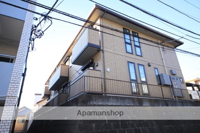 東京都多摩市、京王永山駅徒歩10分の築2年 2階建の賃貸アパート
