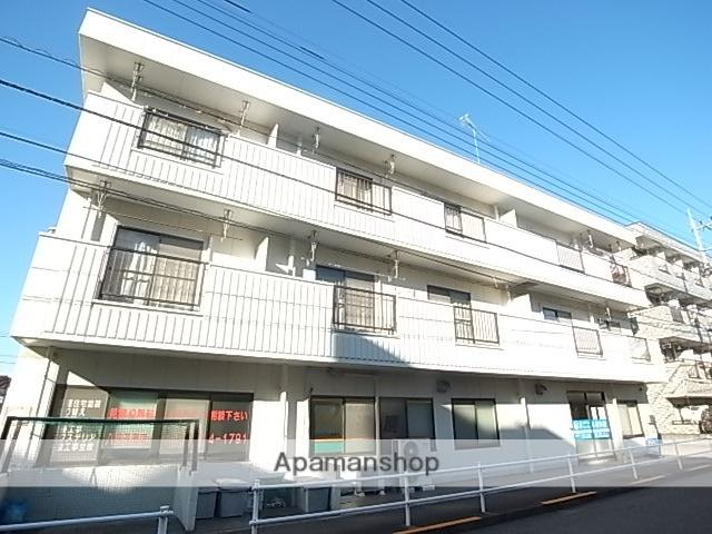 東京都八王子市、京王堀之内駅徒歩5分の築30年 3階建の賃貸マンション