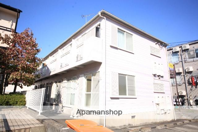 東京都八王子市、京王堀之内駅徒歩15分の築24年 2階建の賃貸アパート
