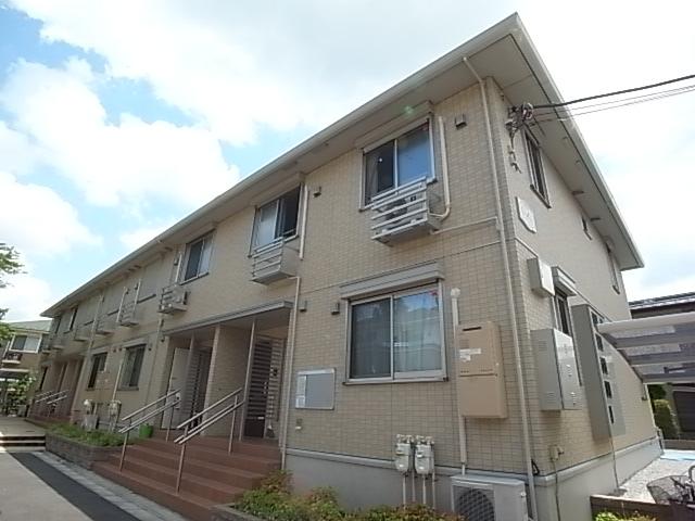 東京都多摩市、京王多摩センター駅徒歩20分の築5年 2階建の賃貸アパート