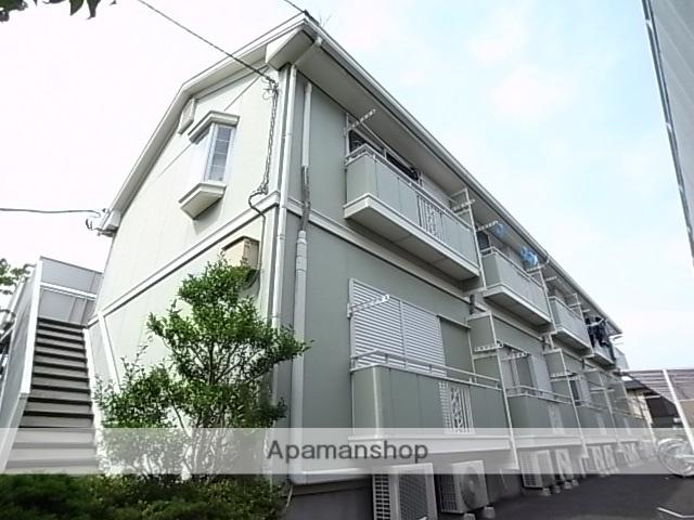 東京都八王子市、京王多摩センター駅徒歩25分の築24年 2階建の賃貸アパート