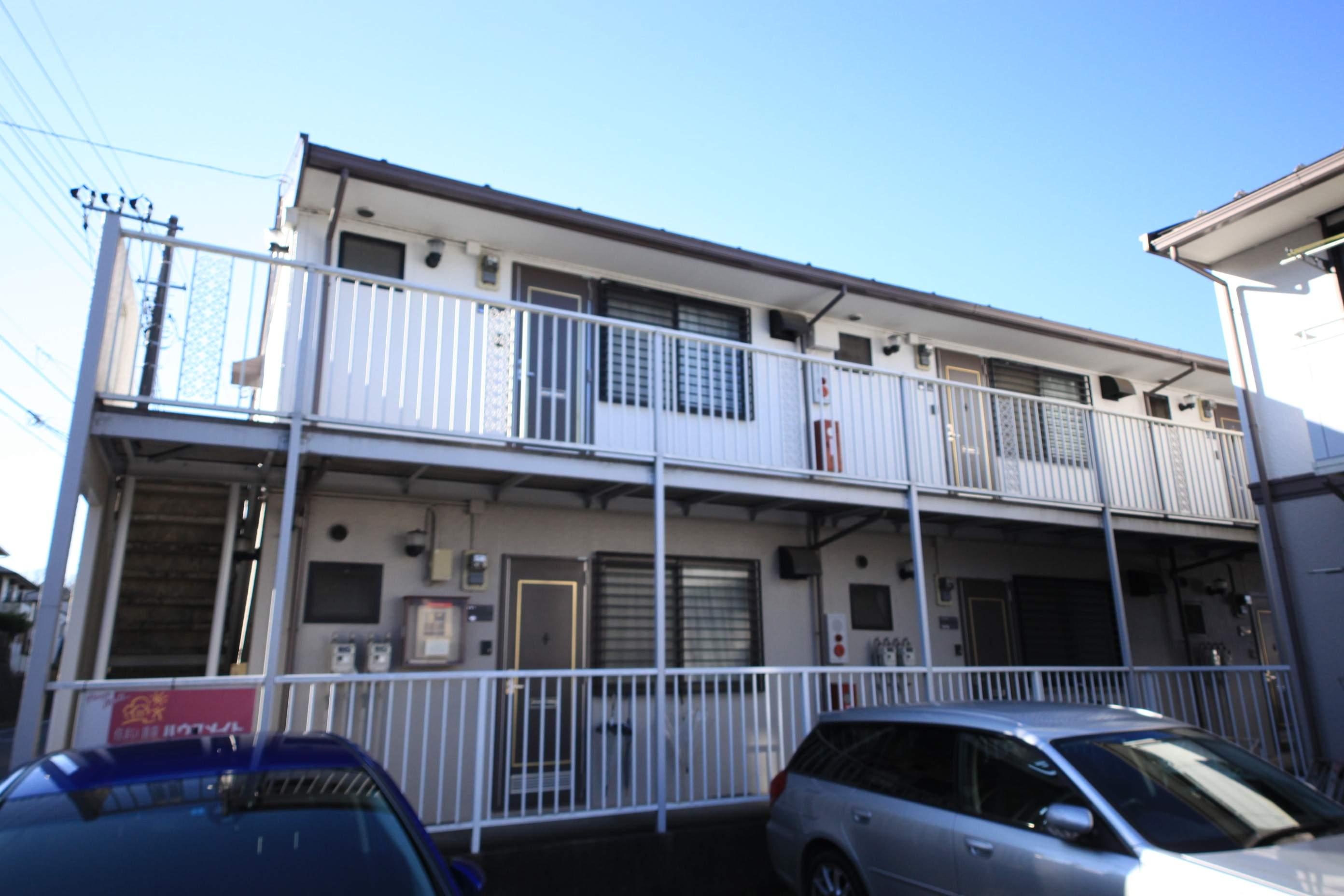 東京都八王子市、京王堀之内駅徒歩10分の築28年 2階建の賃貸アパート