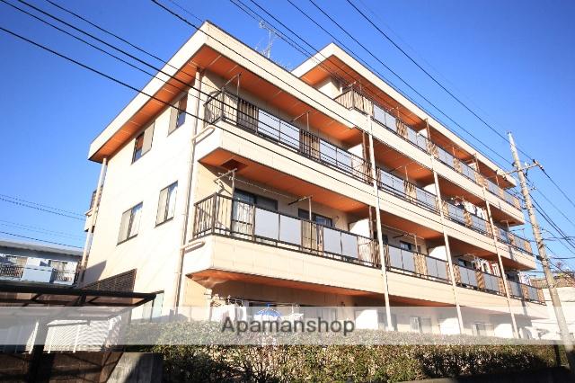 東京都多摩市、京王多摩センター駅徒歩10分の築27年 4階建の賃貸マンション