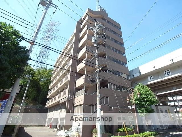 東京都多摩市、京王多摩センター駅徒歩6分の築17年 9階建の賃貸マンション