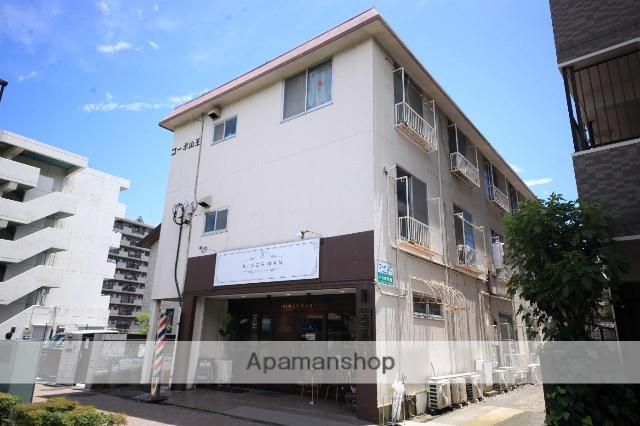 東京都多摩市、京王永山駅徒歩39分の築34年 3階建の賃貸マンション