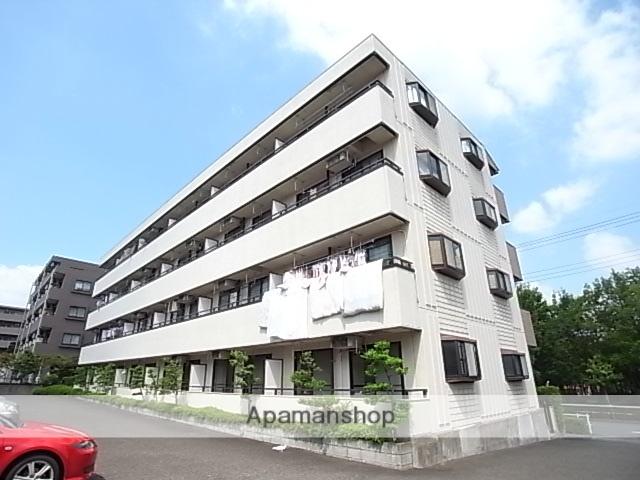東京都八王子市、京王堀之内駅徒歩5分の築23年 4階建の賃貸マンション