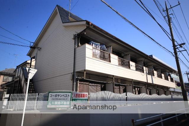 東京都八王子市、松が谷駅徒歩10分の築29年 2階建の賃貸アパート