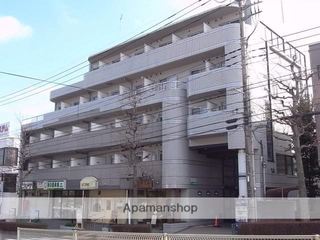 東京都多摩市、京王多摩センター駅徒歩17分の築24年 5階建の賃貸マンション