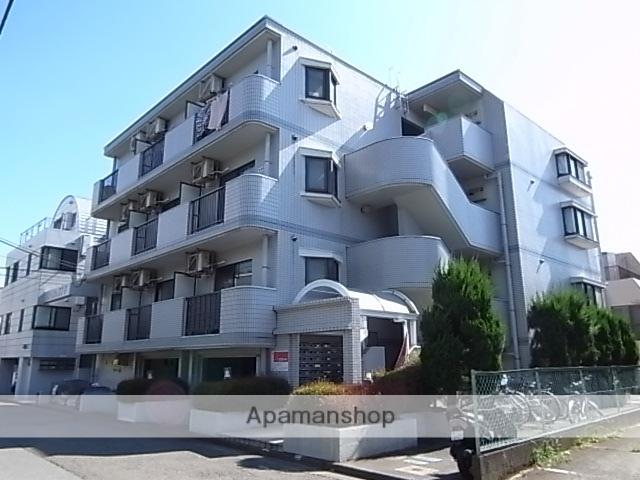 東京都多摩市、京王永山駅徒歩11分の築26年 4階建の賃貸マンション