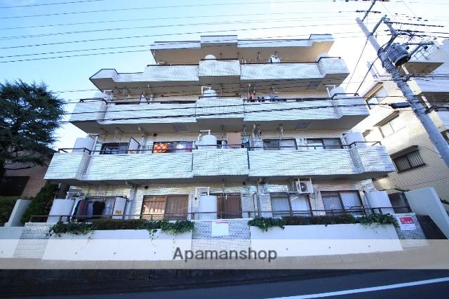 東京都多摩市、京王永山駅徒歩10分の築30年 4階建の賃貸マンション