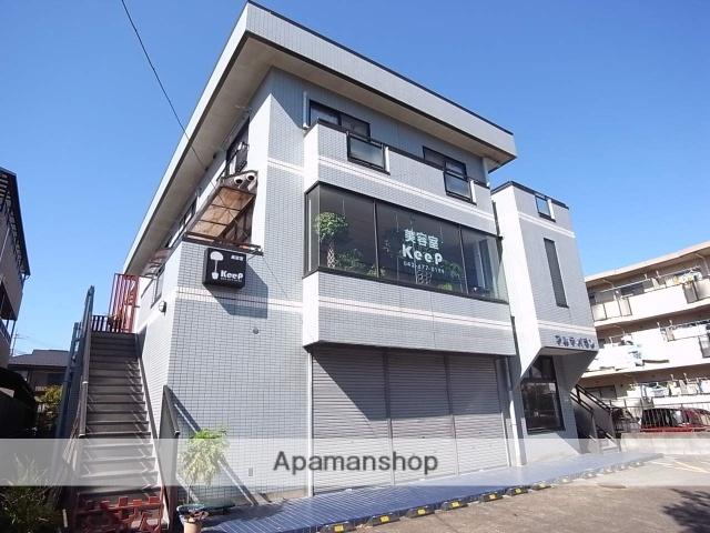 東京都八王子市、京王堀之内駅徒歩4分の築25年 3階建の賃貸マンション