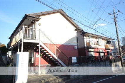 東京都多摩市、京王多摩センター駅徒歩4分の築27年 2階建の賃貸アパート
