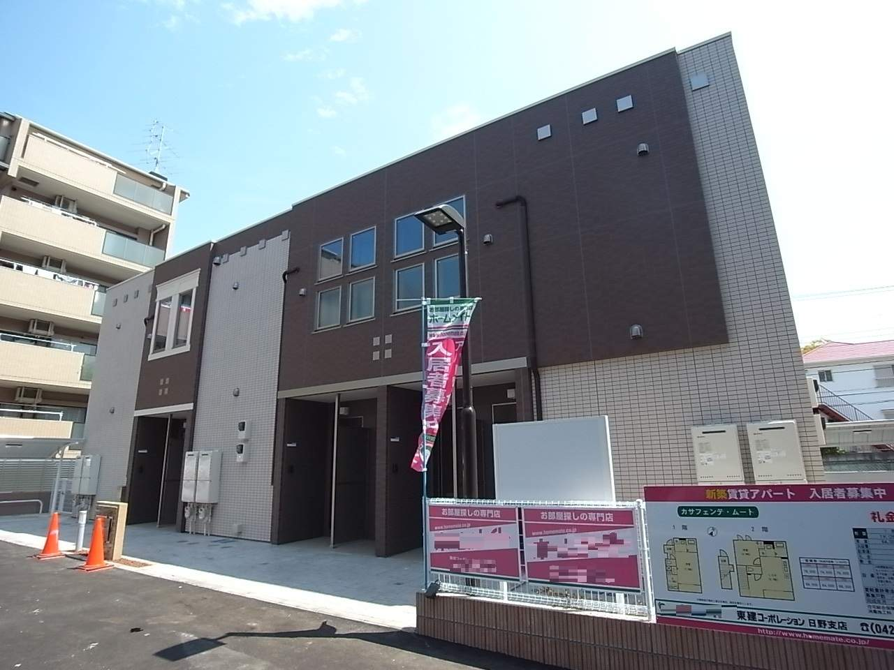 東京都多摩市、京王多摩センター駅徒歩16分の築1年 2階建の賃貸アパート