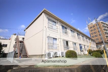 東京都多摩市、中河原駅徒歩23分の築39年 2階建の賃貸マンション