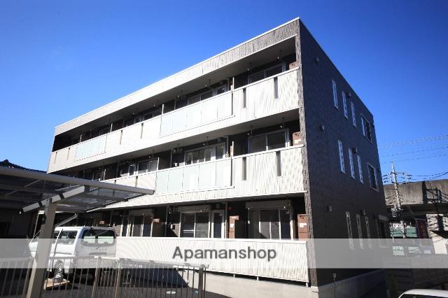 東京都八王子市、京王堀之内駅徒歩20分の築1年 3階建の賃貸マンション