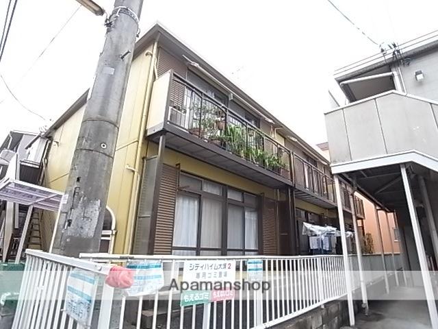 東京都八王子市、聖蹟桜ヶ丘駅バス16分帝京大学入口下車後徒歩6分の築37年 2階建の賃貸アパート