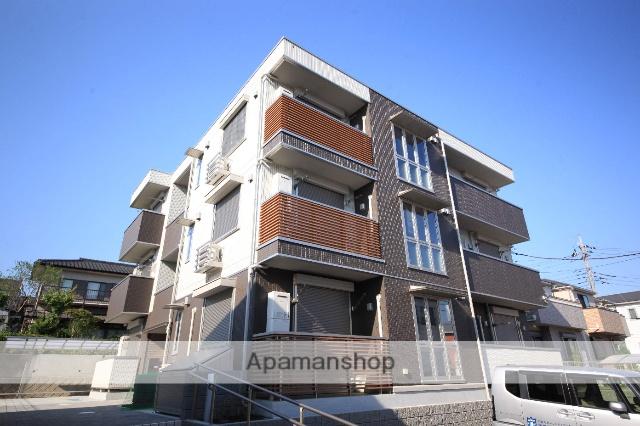 東京都八王子市、京王堀之内駅徒歩18分の新築 3階建の賃貸マンション