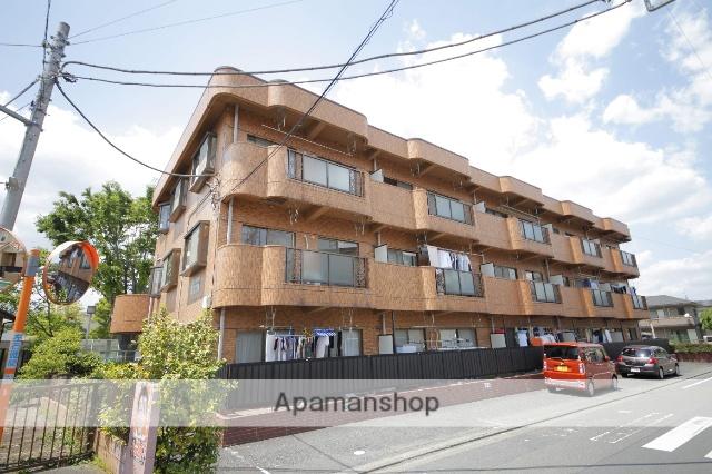 東京都日野市、聖蹟桜ヶ丘駅徒歩37分の築27年 3階建の賃貸マンション