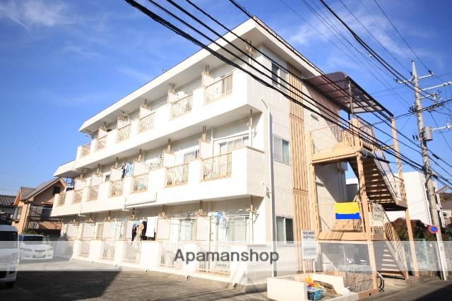 東京都八王子市、京王多摩センター駅徒歩25分の築31年 3階建の賃貸マンション