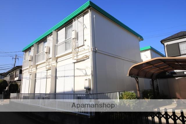 東京都八王子市、松が谷駅徒歩8分の築27年 2階建の賃貸アパート