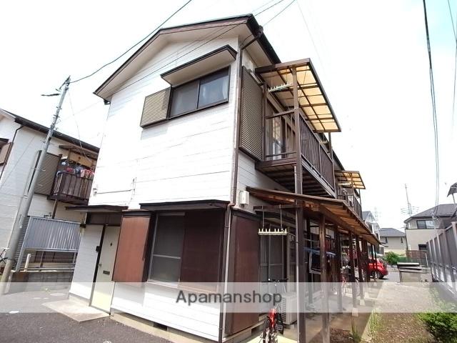東京都八王子市、京王多摩センター駅徒歩19分の築36年 2階建の賃貸アパート