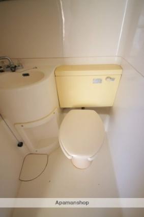 パークサイドハイツ[1R/17.01m2]のトイレ