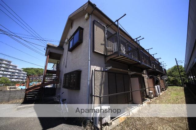 東京都多摩市、聖蹟桜ヶ丘駅徒歩18分の築26年 2階建の賃貸アパート