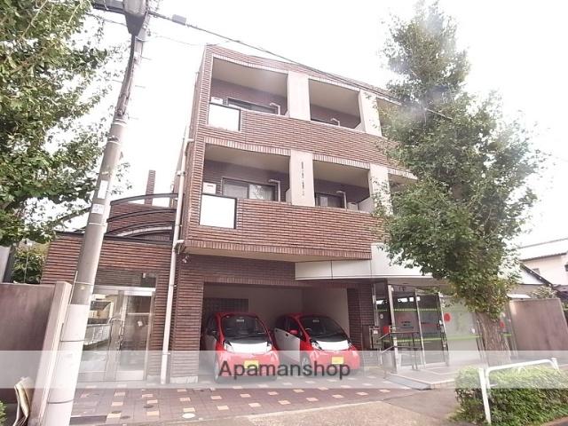 東京都日野市、日野駅徒歩3分の築23年 3階建の賃貸マンション
