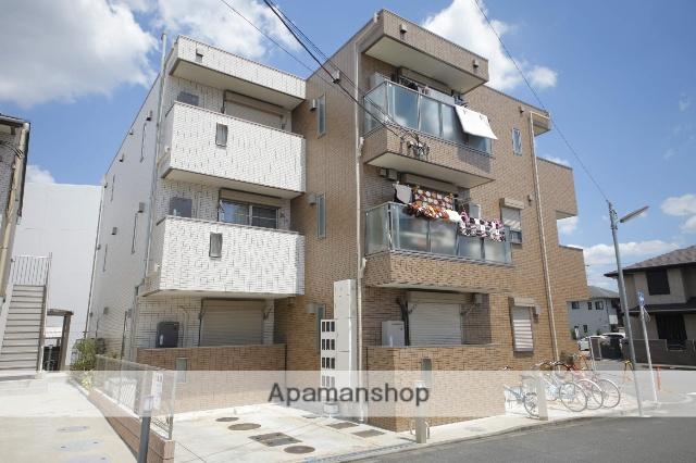東京都日野市、豊田駅徒歩4分の築3年 3階建の賃貸マンション