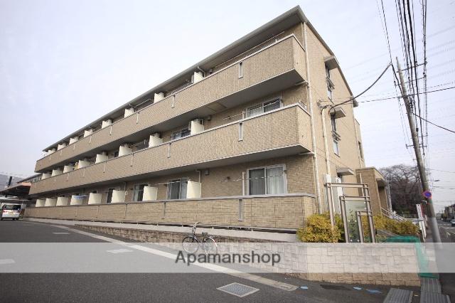 東京都八王子市、八王子駅京王バスバス14分大和田坂上下車後徒歩3分の築7年 3階建の賃貸アパート