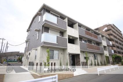 東京都日野市、豊田駅徒歩13分の築2年 3階建の賃貸アパート