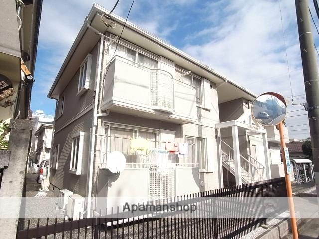 東京都八王子市、八王子駅徒歩17分の築22年 2階建の賃貸アパート