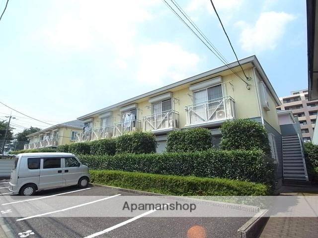 東京都八王子市、八王子駅京王バスバス12分御所水通り下車後徒歩3分の築23年 2階建の賃貸アパート